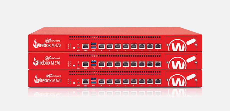 watchguard firebox M series of firewalls