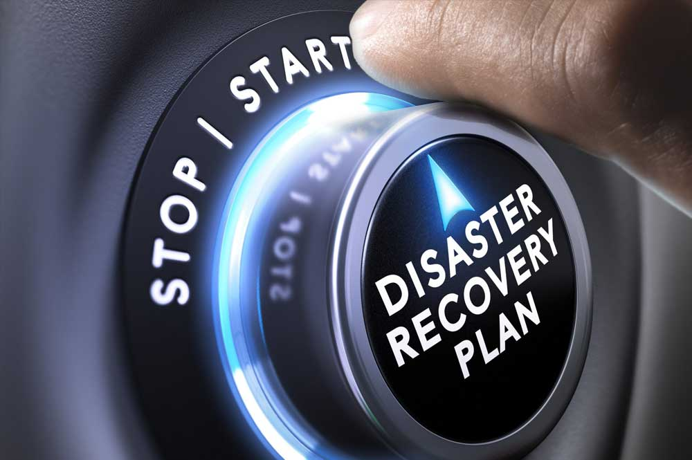 disaster recovery plans for data hacks